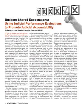 Reforming oregon judicial selection