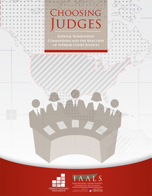 Choosing Judges: Judicial Nominating Commissions and the Selection of Supreme Court Justices