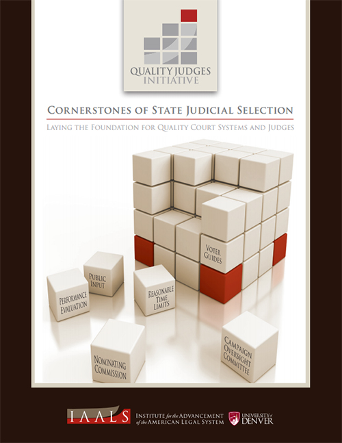 Cornerstones of State Judicial Selection