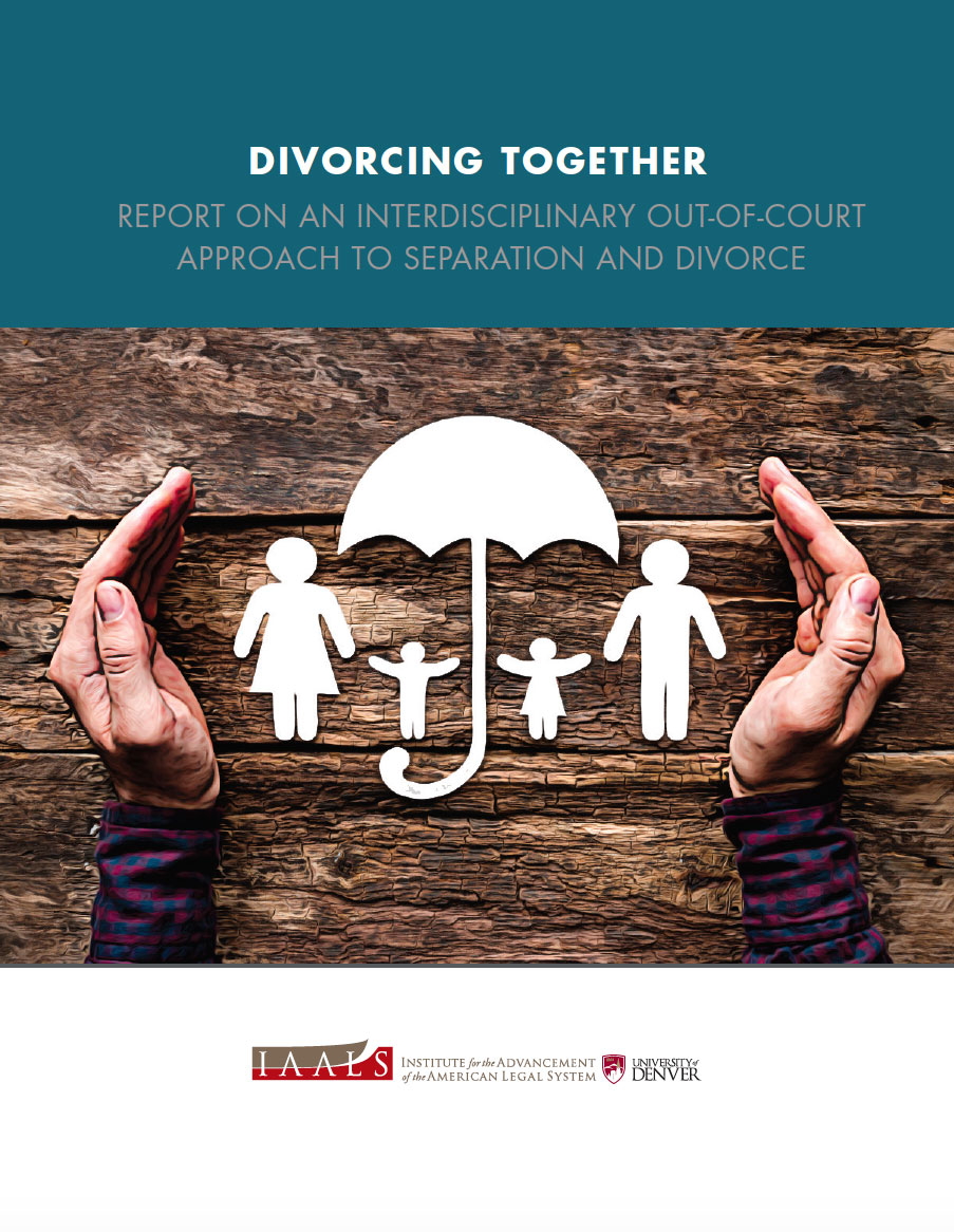 Divorcing Together: Report on an Interdisciplinary Out-of-Court Approach to Separation and Divorce
