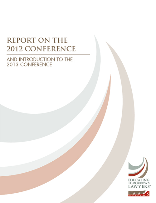 Report on the 2012 Conference and Introduction to the 2013 Conference