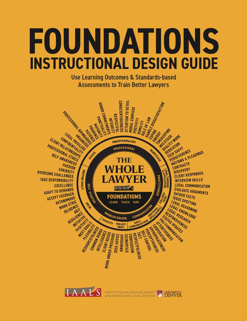Foundations: Instructional Design Guide