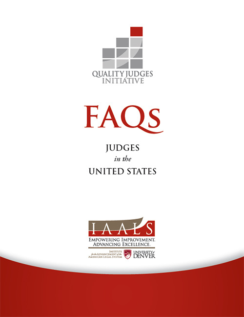 FAQs: Judges in the United States