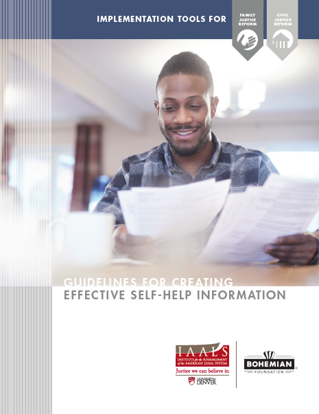 Guidelines for Creating Effective Self-Help Information